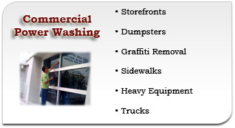 Mainline Commercial Power Washing Services